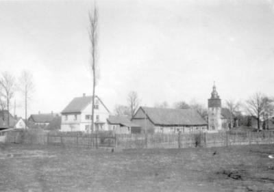 Blick in den damaligen Bereich des heutigen Parks