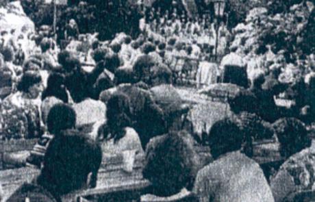 Veranstaltung im Park Laucha