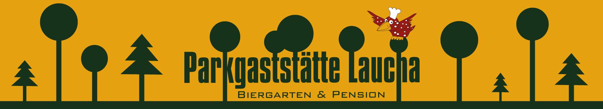 Parkgaststätte Laucha – Biergarten & Pension Logo