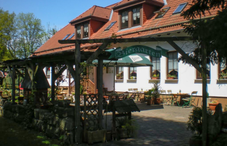Park-Laucha-Parkgaststätte vor Renovierung