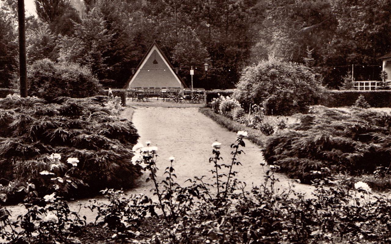 Titel Geschichte Parkgaststätte und Park Laucha